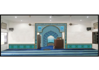 Khat dan kaligrafi, Surau Taman Medan
