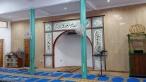 Hiasan khat / kaligrafi di mehrab Surau Madrasah Hidayatul Islamiah Lorong Mewah 14, Bandar Tun Razak 56000, Kuala Lumpur.